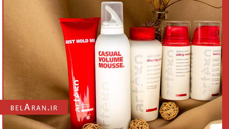 محصولات آرایش مو برند آرتگو - بلاران