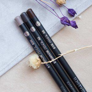 مداد ابرو و مداد چشم قهوه ای آنتی آلرژی برند اواگاردن - بلاران